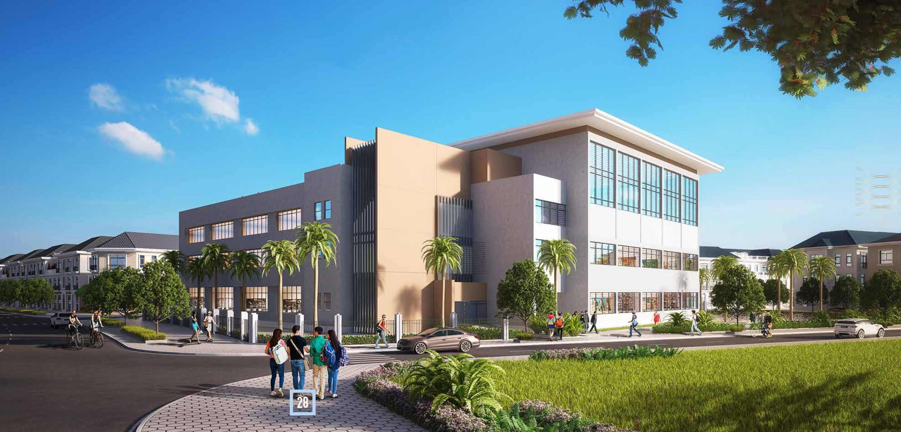 Trường học Vinschool Vinhomes Green Bay