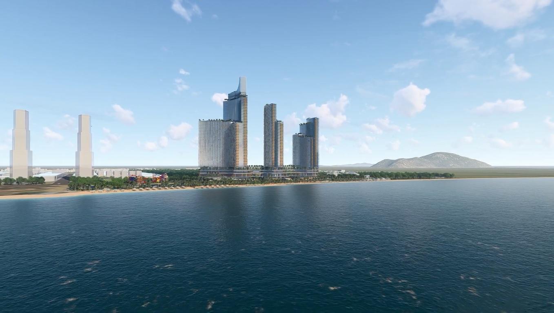 Phối cảnh tổng thể dự án Sunbay Park Phan Rang Ninh Thuận